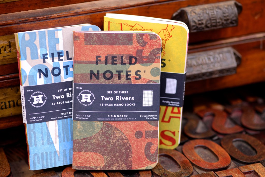 Field Notes : Two-Rivers Edition